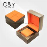 Оптовая одиночная коробка вахты подарка PU кожаный