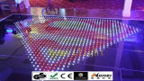 Танцы P10 акриловое водоустойчивое RGB обшивает панелями танцевальную площадку СИД видео- для индикации этапа свадебного банкета