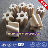 CNC que faz à máquina a mini engrenagem de dente reto de nylon plástica de /Derlin para o automóvel