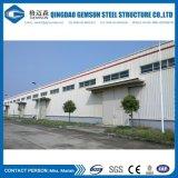 Пакгауз сарая здания мастерской стальной структуры конструкции полуфабрикат