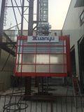 電流を通されたマストセクション構築の起重機Sc200