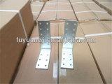 Diverso conector galvanizado de madera de la placa del estilo acero