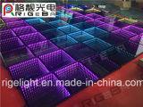 Diodo emissor de luz Dance Floor portátil do espelho de DMX 3D para a luz do evento do partido da barra do DJ do disco