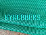 Feuille en caoutchouc d'entretoise verte, feuille en caoutchouc en caoutchouc de Cirlce de POINT, feuille en caoutchouc d'entretoise, le caoutchouc de POINT