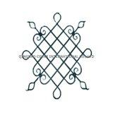 錬鉄の花のパネル11031の錬鉄のロゼット