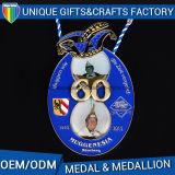 2017 de Nieuwste 3D Gouden Medaille van het Medaillon van de Marathon van het Metaal van de Douane
