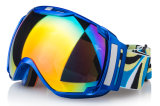 Kugelförmiges PC Objektiv Sports Sicherheit Eyewear Ski-Schnee-Schutzbrillen