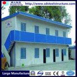 Vorfabriziertes Haus-Fertighaus Stahlc$gebäude-fertighaus Büro