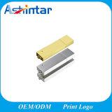 Azionamento inossidabile dell'istantaneo del USB del metallo del USB Pendrive di /Silver dell'oro