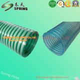 Mangueira trançada reforçada com fibra macia / flexível de PVC