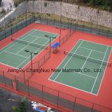 El campo de tenis del Spu Cn-S02 se divierte el suelo con el certificado de Iaaf