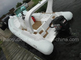 22.3feet 680b Inflatable Rib Boat, Rescure Boat, Fishing Boat, Rigid Hull Boat, PVC 및 Hypalon