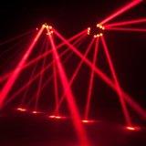 9X10W LED 이동하는 맨 위 거미 광속 빛 DJ 장비