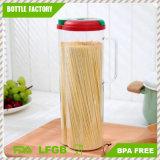 1.6 L contenitore di memoria di plastica trasparente rotondo dell'alimento Containers/PS della cucina libera