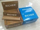 Papeles de balanceo más ricos superiores del cigarrillo de la marca de fábrica (escoger, 1-1 4, kingslim, gigantes)