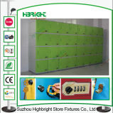 Cacifo do cacifo ABS Plastic Storage da escola para o quarto de Changing