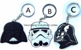 O PVC Keychain do costume para PVC Keychain do projeto da fantasia do presente grava o PVC