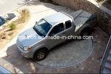 Plataforma giratória do disco do carro do estacionamento da garagem