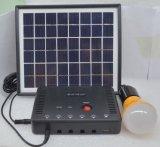 sistema solar de los kits de la iluminación de la lámpara LED de 5PCS LED de la fábrica de la ISO