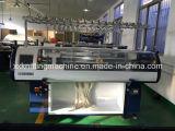 Telaio di lavoro a maglia piano del collare con il video di colore