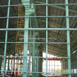 Gruppo di lavoro chiaro della struttura d'acciaio della costruzione di blocco per grafici del metallo con la portata di lunga vita