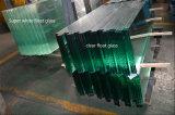 プールの塀のための10mmの12mm明確な浮遊物によって強くされるガラス