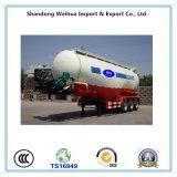 De 45 cubos del cemento de petrolero del carro acoplado a granel semi con los árboles de Fuwa