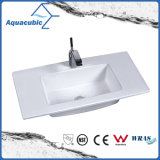 Um dissipador da bacia e da bancada do banheiro da parte (ACB7350)