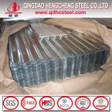 Lamina di metallo d'acciaio rivestita del tetto dello zinco di alluminio ondulato
