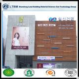 Hoja de pared exterior libre coloreada de la tarjeta del cemento de la fibra del asbesto