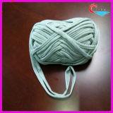 Filato di lavoro a maglia 100% della striscia del poliestere