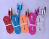 색깔 실리콘 USB 자료 선 iPhone와 Andriod