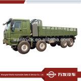 Sinotruk HOWO 8X8 371HP Zz2307s3577Aの貨物自動車のトラック