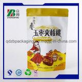 Sacs en plastique de conditionnement des aliments de poche comique avec la tirette