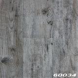 Серый настил планки винила PVC цвета 5/0.7mm свободно положенный