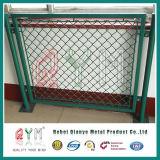 Frontières de sécurité provisoires galvanisée de maillon de chaîne de clôture/construction de panneau de maillon de chaîne de 6 ' x12