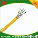 Кабель LAN куртки UTP Cat5e LSZH/кабель сети с Ce RoHS ISO9001