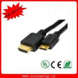 Mini câble de HDMI 1.4V au câble de HDMI