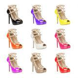 Madame classique Fashion Sandals (S08) de tep de piaulement de talon haut