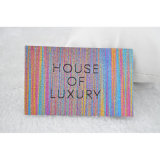 Étiquettes tissées par Digitals pour la couleur de riches d'habillement/vêtement