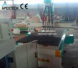 Cnc-Fräser mit 3 Spindeln für hölzernen multi Köpfe CNC-Holz-Fräser