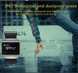 IP67は心拍数のモニタが付いているスマートなブレスレットを防水する