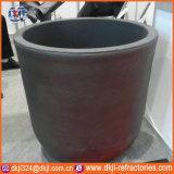 Creuset de fusion en aluminium de carbure de silicium de température élevée