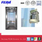 De hoogst Veilige Veiligheid Gelamineerde Lift van het Sightseeing van het Glas met de Functie van de Straling