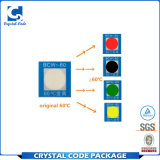Escritura de la etiqueta reversible impermeable de la etiqueta engomada del cambio del color de la temperatura