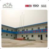 Casa prefabricada estampada en frío del marco de acero/edificio de la estructura de acero del calibrador de la luz