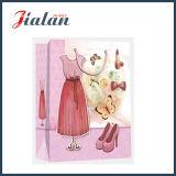 Geschenk-Beutel der Zoll-4c gedruckter Dame-Dress Packing Shopping Paper
