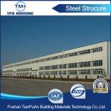 Taller de la estructura de acero del bajo costo de la fuente de la fábrica