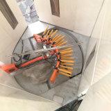 Ligne de pulvérisation de poudre électrostatique pour le matériau de construction