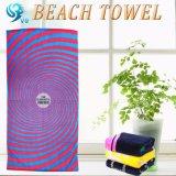 正方形の形によって印刷されるビーチタオル